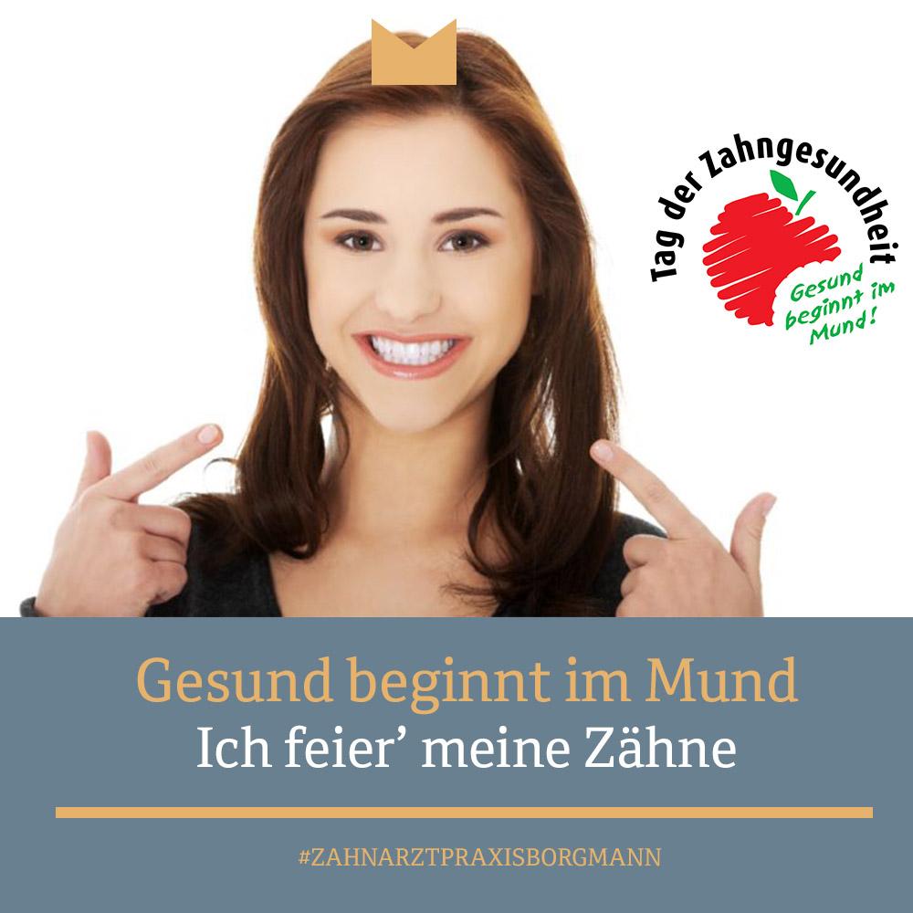 """""""Gesund beginnt im Mund – Ich feier' meine Zähne"""""""